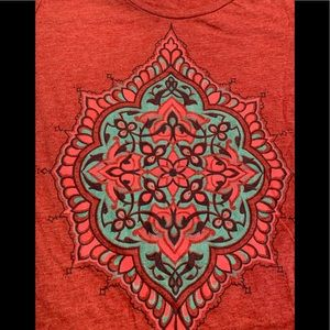 Lucky Brand Red Marle Tee